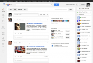 google+ page daccueil