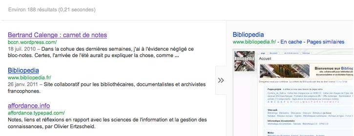 ancienne version cache de Google