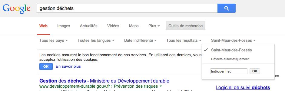 Netsources-108 Google localisation