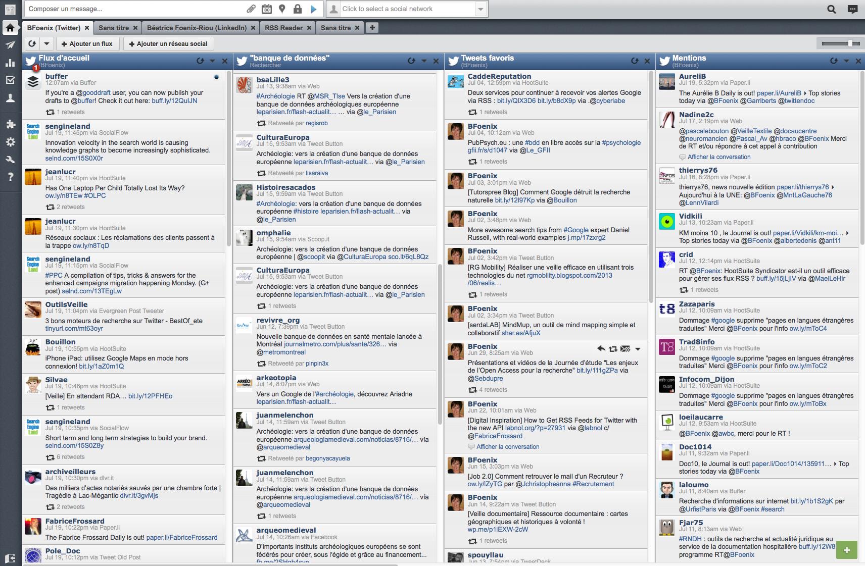 Hootsuite Netsources Panoplie outils twitteur