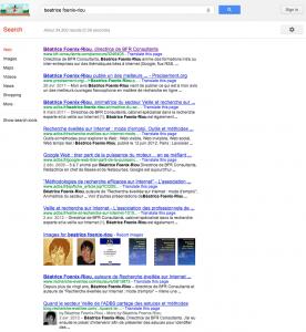 être logué ou non sur google incidences résultats