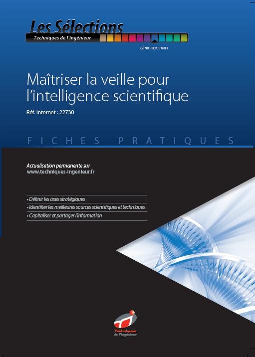 maitriser veille pour intelligence scientifique