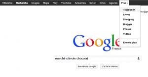 traduction des résultats google