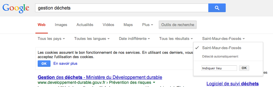 Netsources-108 Google localisation