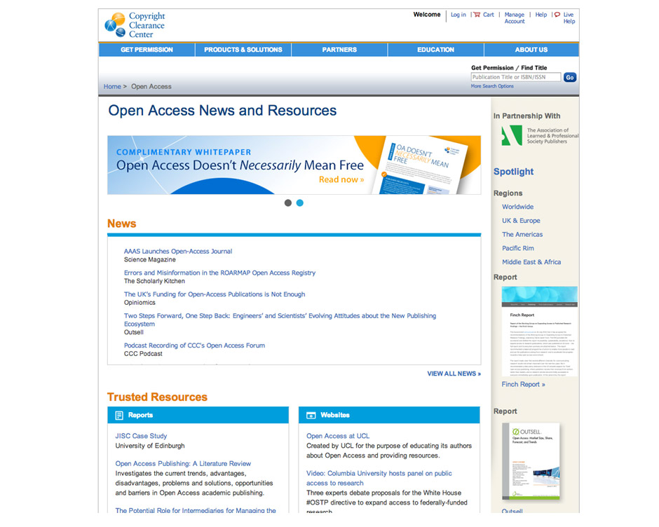 open access news