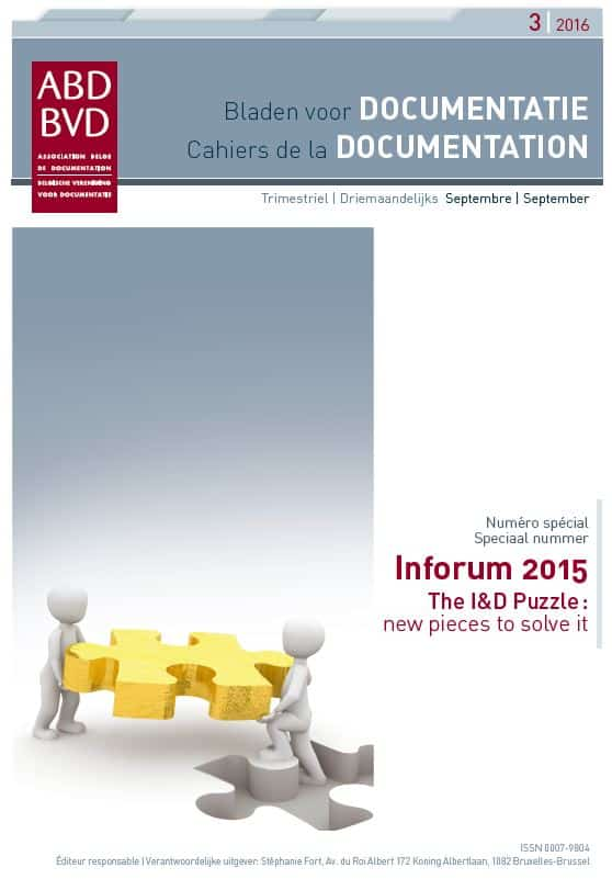 Cahier de la Documentation - ABD-BVD